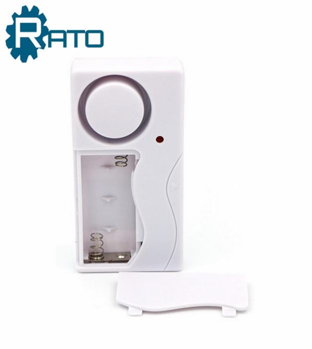 Door Magnetic Security Alarm With 433mhz wireless door contact sensor Alarm and Remote Controller