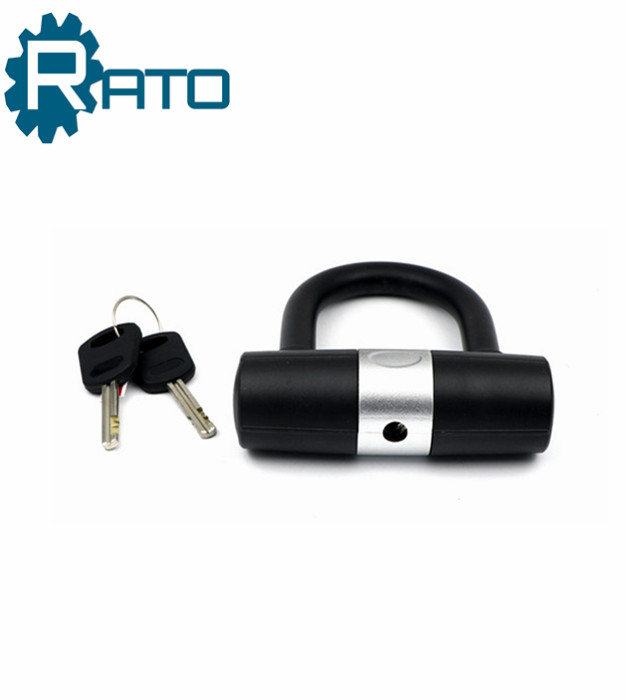 Chinese Mini Smart U Shackle bicycle lock with key