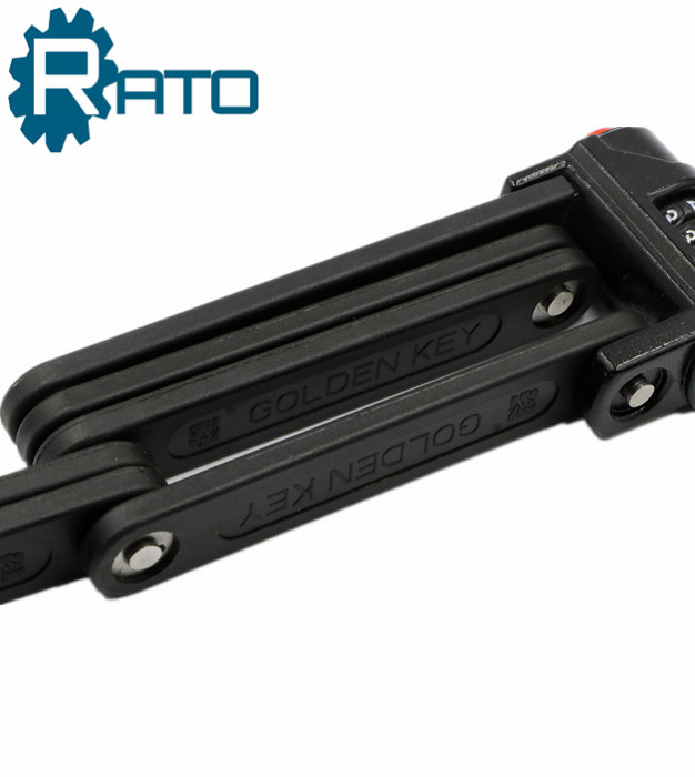 Anti-Theft Ultra Strong Folding Combination Bicycle Lock