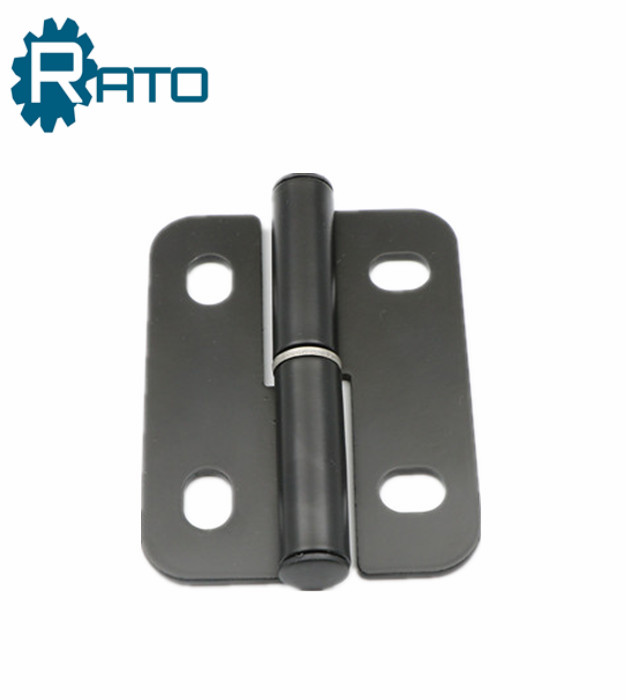 180 Degree Black Electrical Cabinet Door Corner Round Hinge