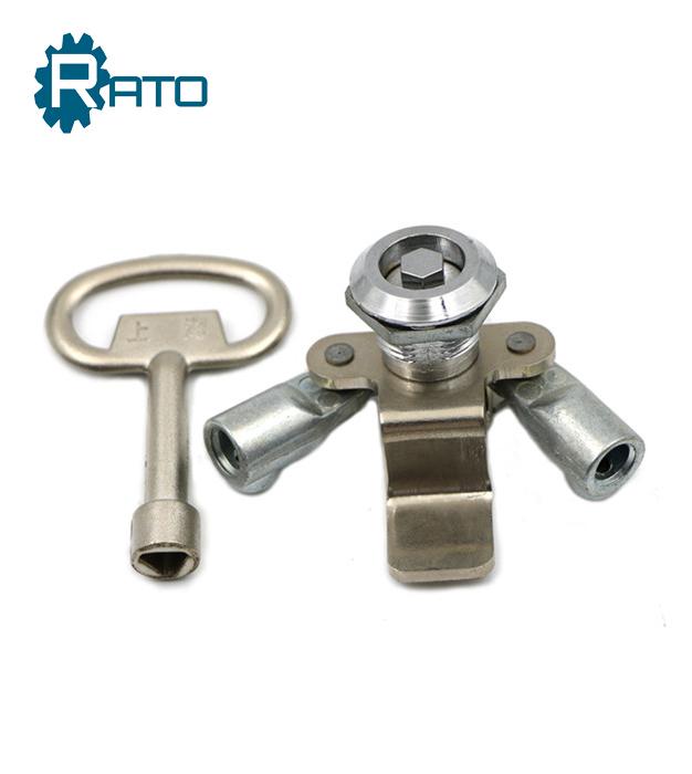 Distribution Box Door Rod Control Cam Lock
