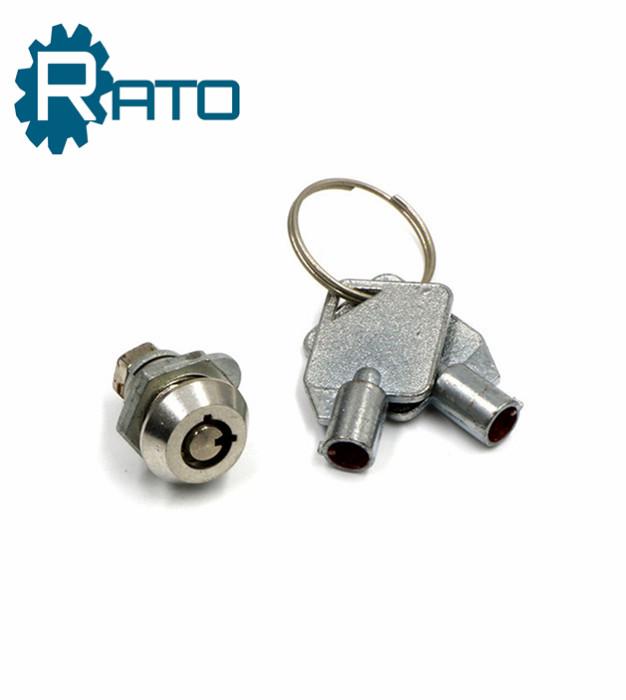 Small Zinc Alloy Pin Tubular Lock with Key