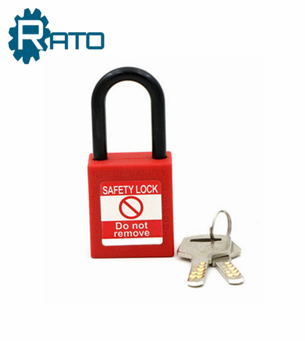 Engineering ABS Red Master Key Safety Series Door Padlock