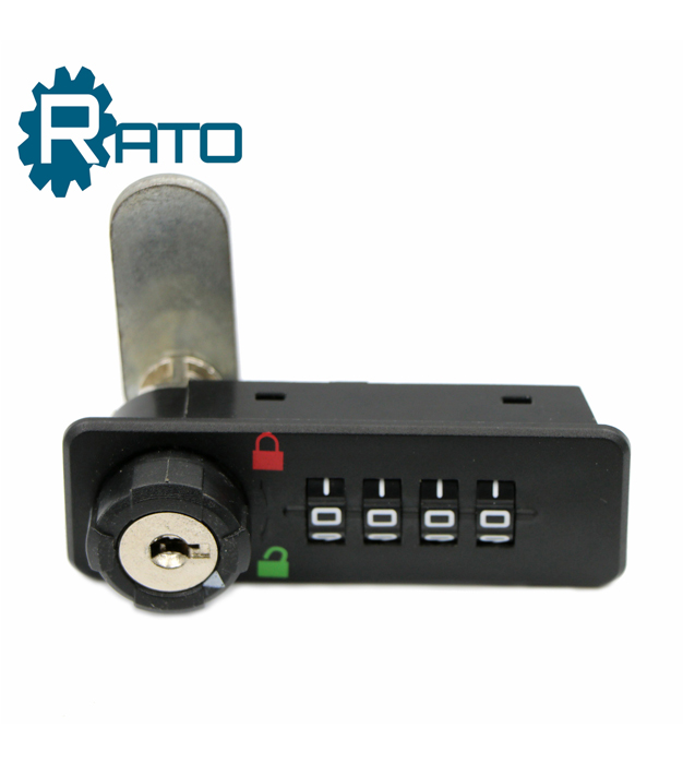 Master key system 4 digit combination code locker lock