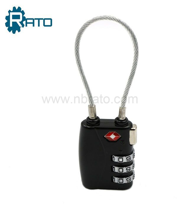 3 Number Luggage Travel TSA Cable Lock