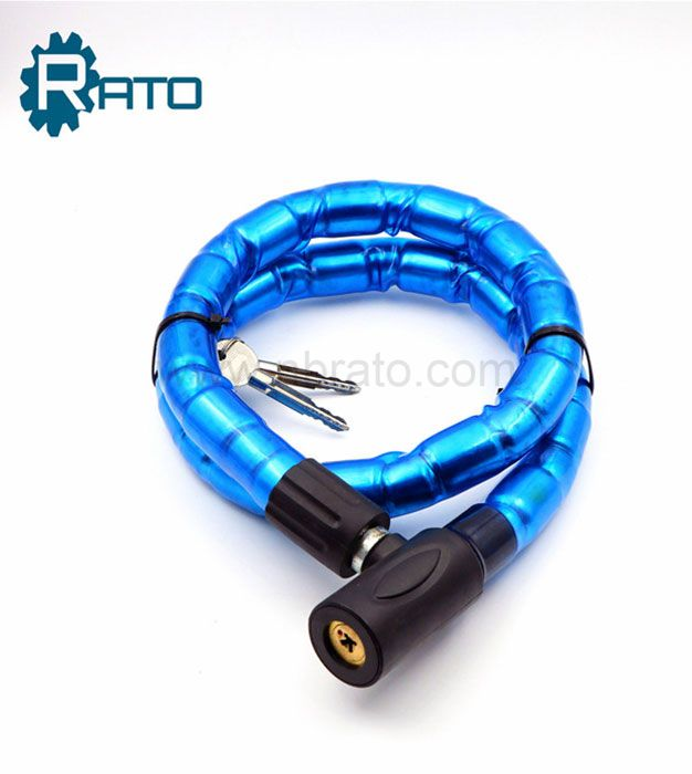 Blue Barrel bike chain locker Cable bicycleJoint Lock