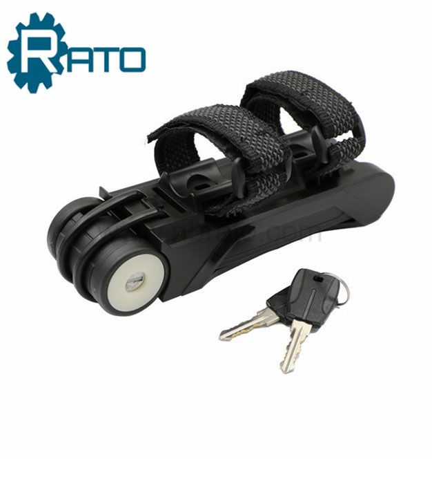 Hardened Steel Metal Folding Steel Joint Bicycle Lock