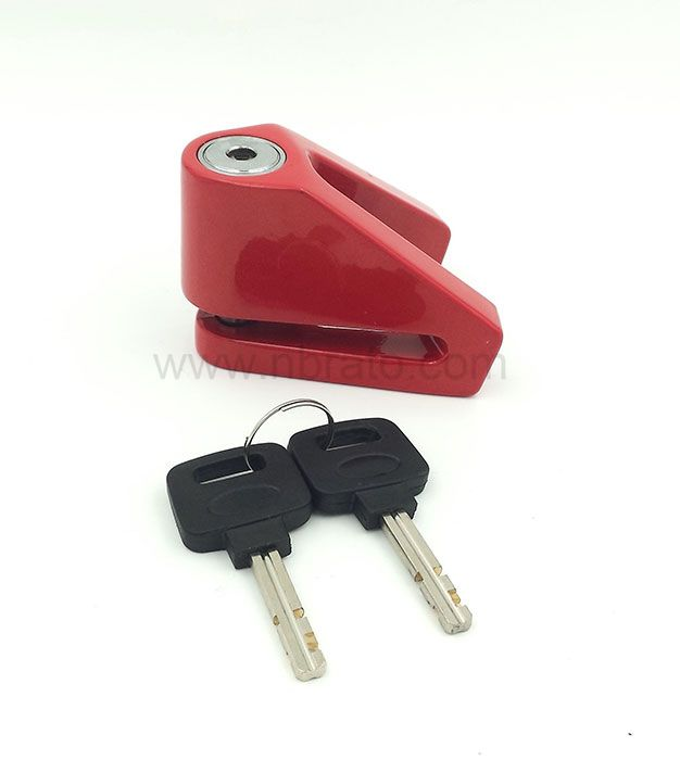V Shape Motorcycle Bicycle Sturdy Wheel Disc Brake Lock