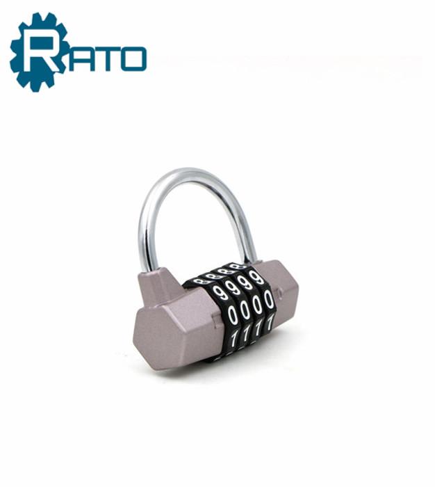 Colorful Alloy keyless gym locker padlock