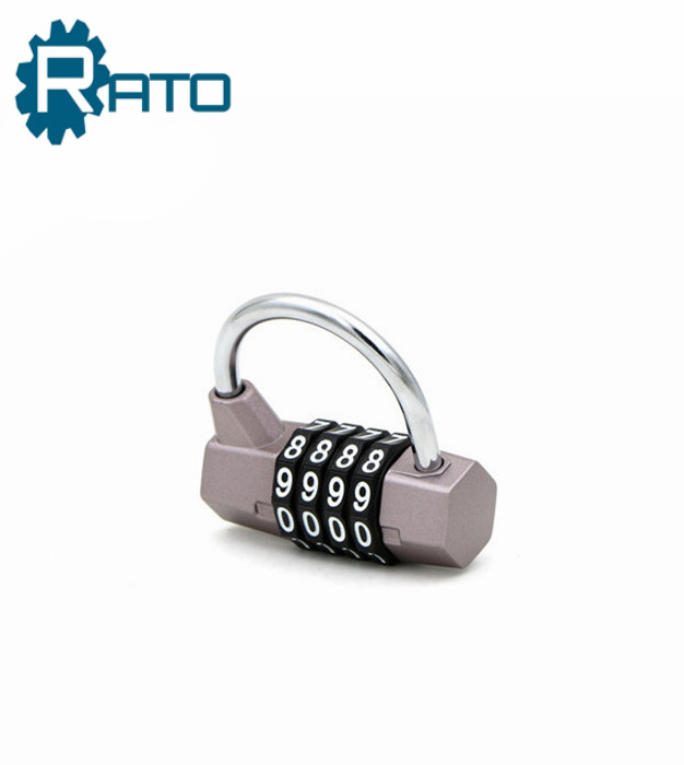 Colorful Alloy keyless gym locker padlock