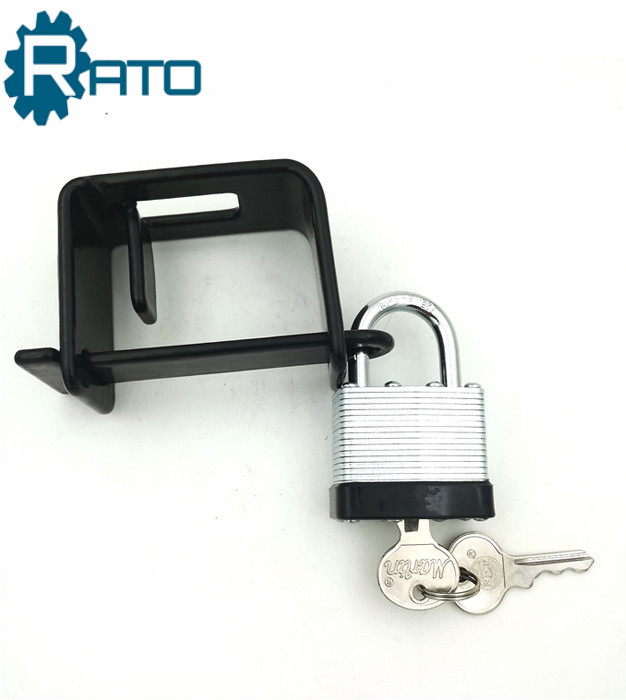 Safety Laminated Gun Lock With Bracket