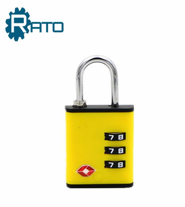 Safe ABS Changeable TSA Combination Luggage Padlock