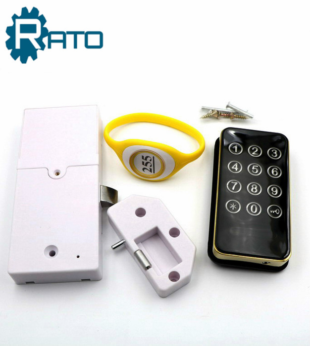 Security Password and RFID Code Access Control Electronic Locker Lock