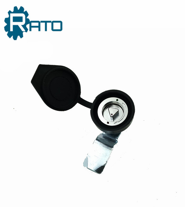 MS705 Triangle Quarter turn latch with Rubber Dust Cover