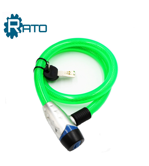 High Quality anti-theft bike cable wire lock