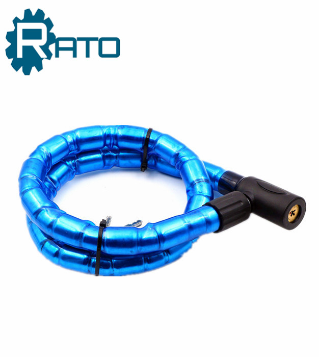 Blue Barrel bike chain locker Cable bicycleJoint Lock