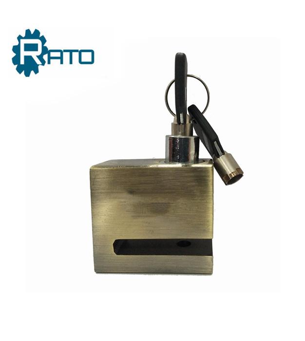 Safe Iron Motorcycle Bicycle Square Disc Brake Lock