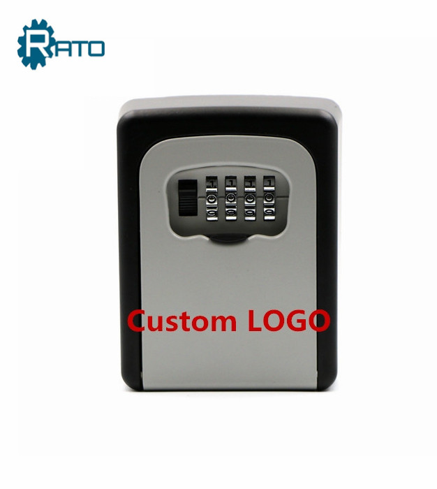 Resettable Wall Mounted 4-Digit Combination Key Storage Lock Box