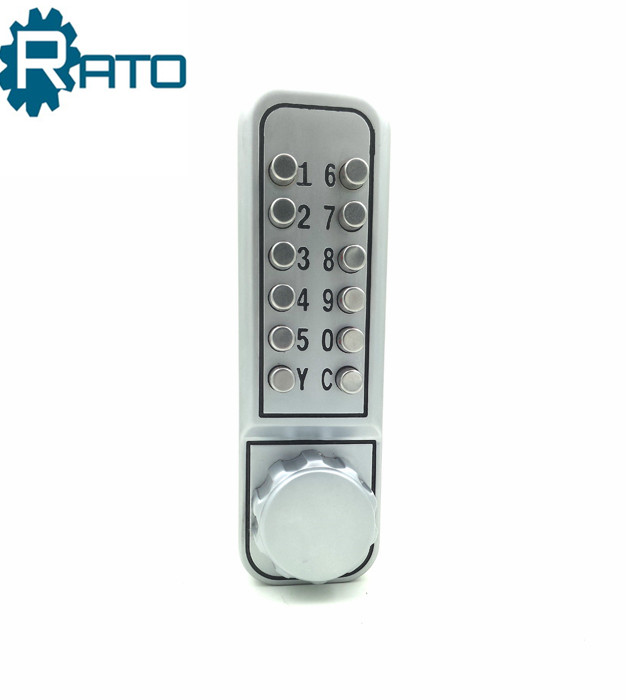 Push button Keypads Entry Mechanical Coded Keyless Door Lock