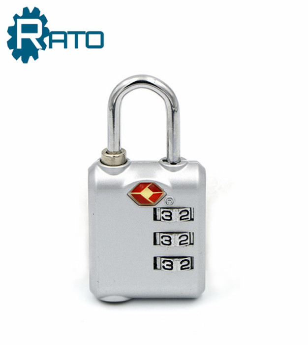 TSA Decorative Combination Padlock with Master Key