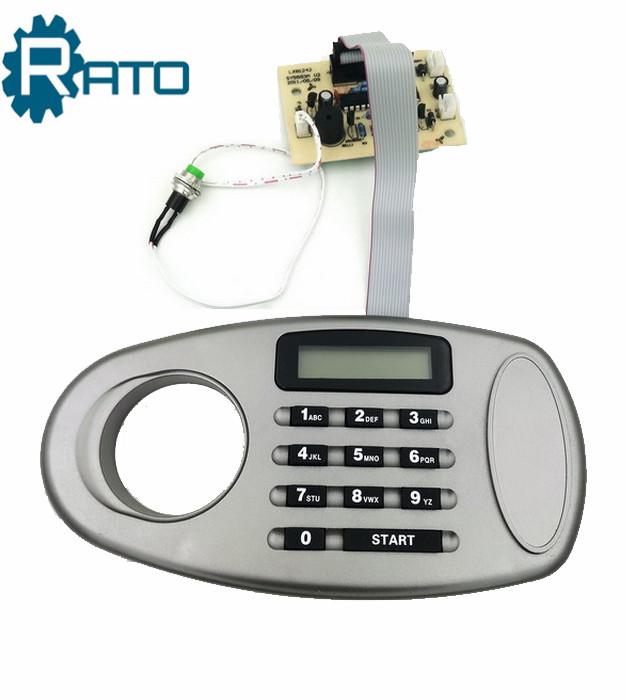 Eletronic Digital Codes Safe Deposit Box Lock