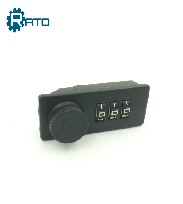 Small 3 Digital Code Number Lock for Suitcase bags