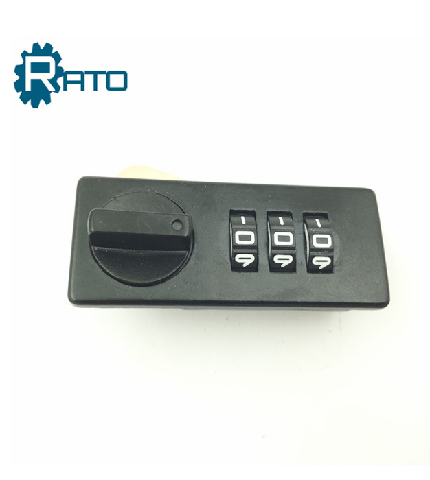Chinese 3 digits turn combination cabinet cam lock for furniture
