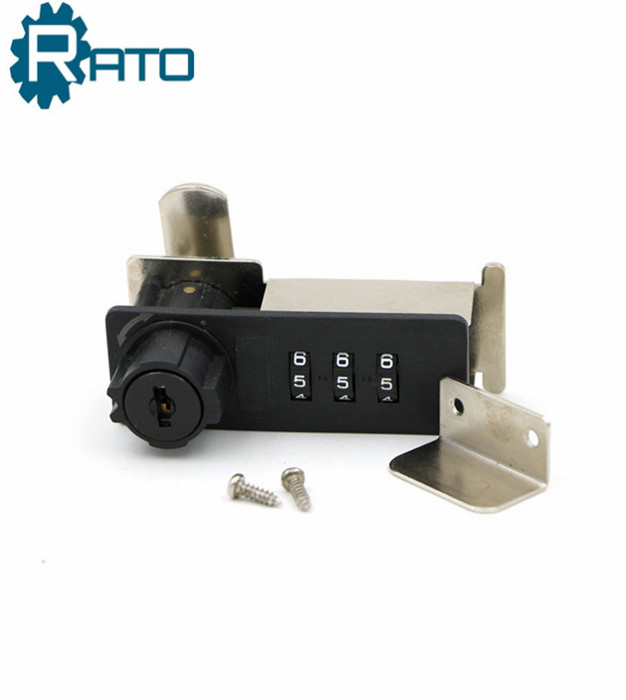 Top Security ABS 3 dial Combination Cabinet Locker Lock