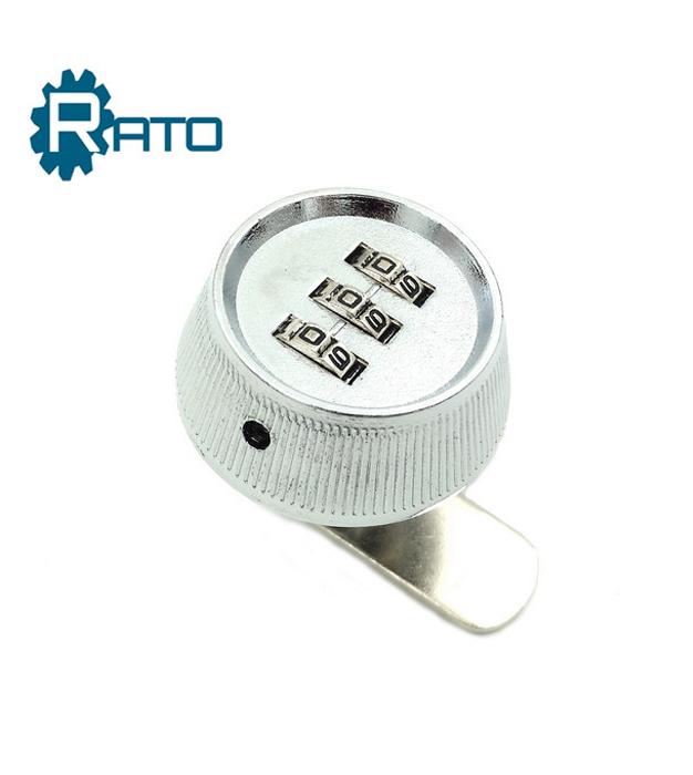 Zinc Alloy Round Shape Dial Combination Cam Lock