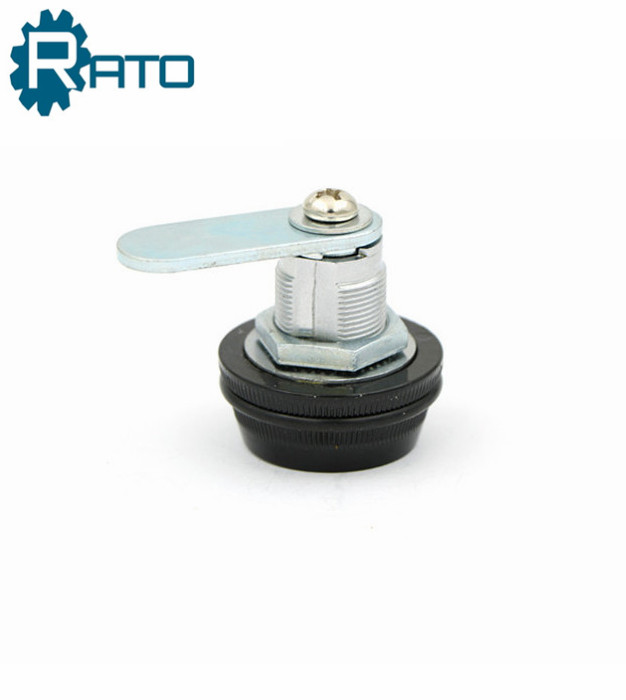 9503 Black Zinc Alloy Round Combination Cabinet Door Lock