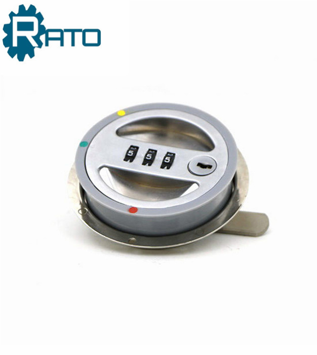 Factory Price Mechanical Round Combination Cam Lock for Cabinet