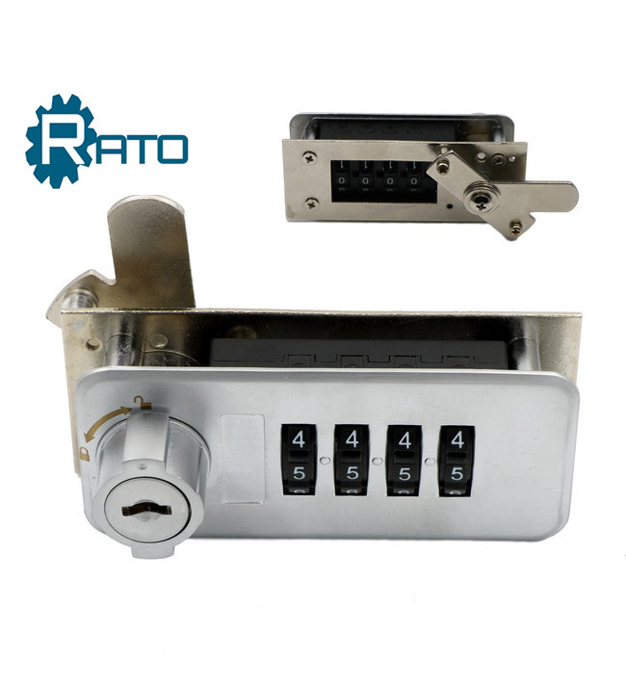 Best selling 4 Digit Mechanical Numeric Mailbox Combination Safe Lock
