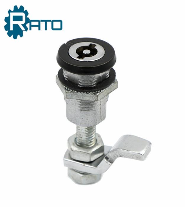Black Powder Coating Zinc Alloy Cylinder Industrial Cam Lock
