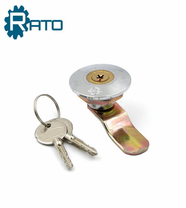 Zinc Alloy Round Head with Cruciform Keys Furniture Cam Locks
