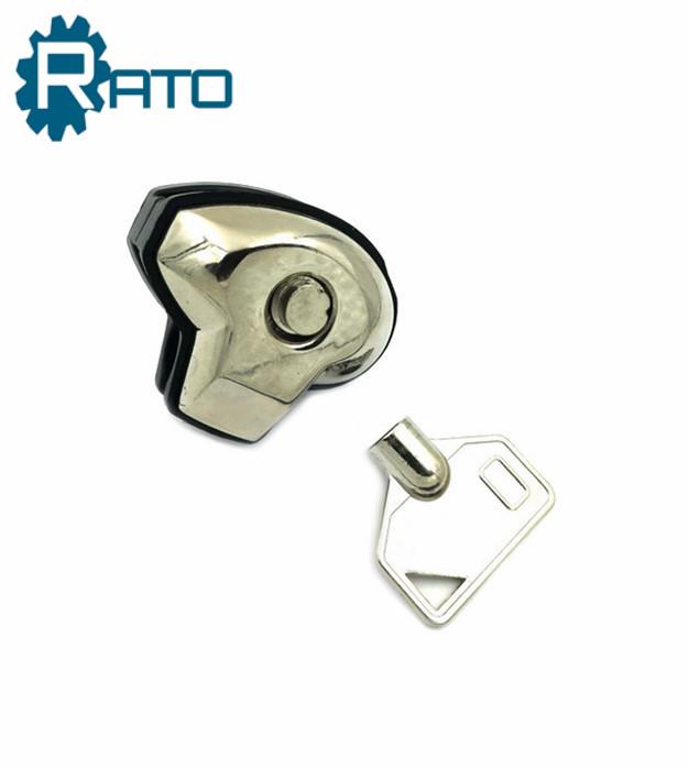 Zinc Alloy Key Safe Bright Trigger Gun Lock
