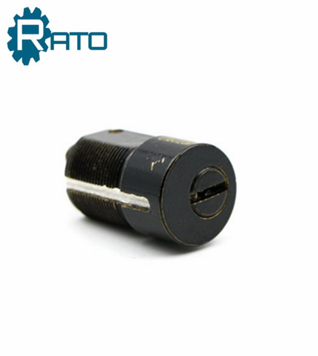 Safe Black Tubular Cam Lock with Keys