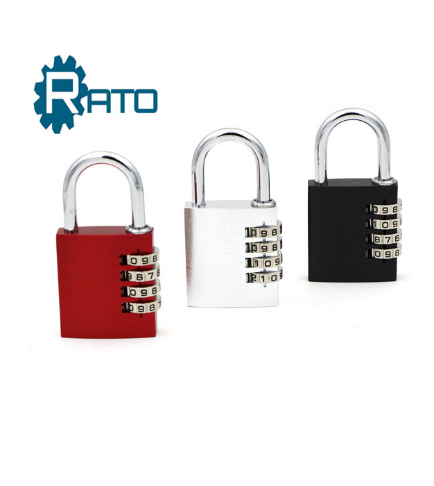 Colorful 40mm Security Outdoor Silver Combination Padlock