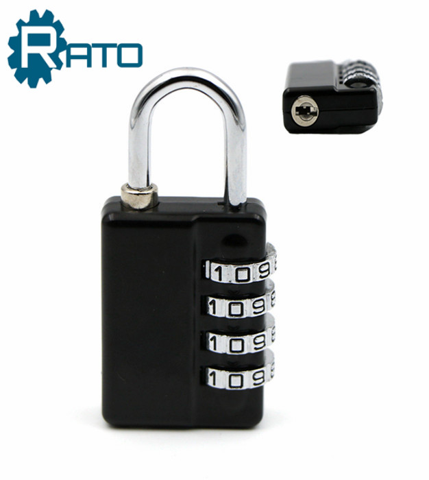 4 Digit Suitcase Combination Padlock With Master Key