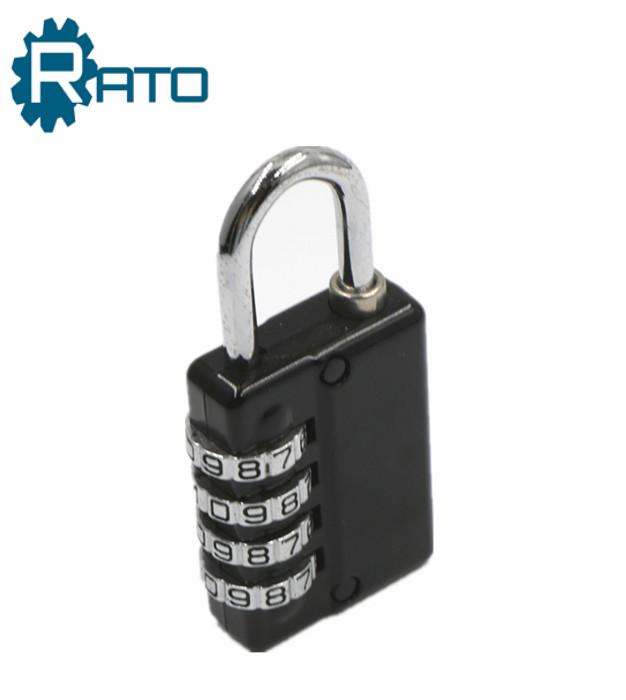 4 Digit Suitcase Combination Padlock With Master Key
