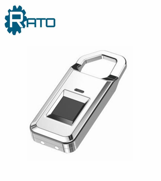 Top Security Small Electronic Biometric Fingerprint Scanner Padlock