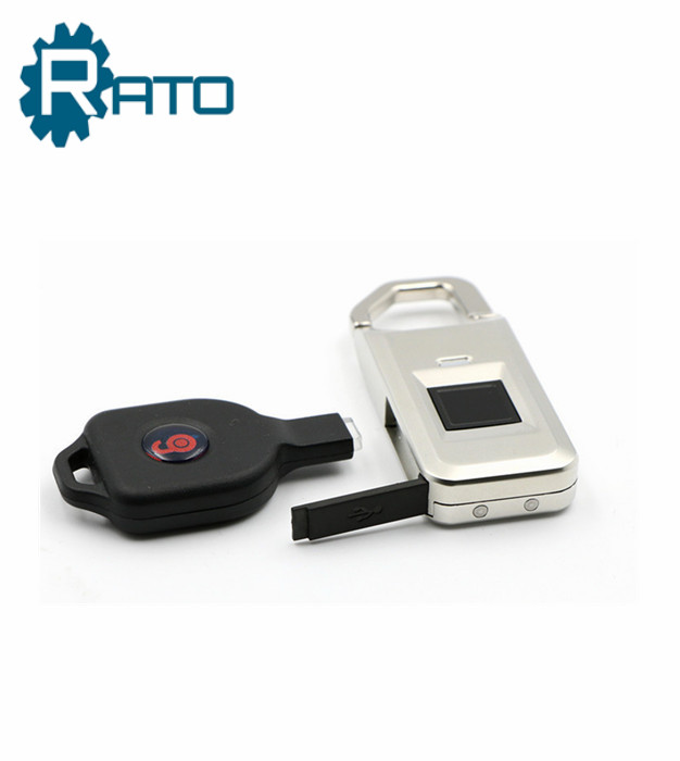 Top Security Small Electronic Biometric Fingerprint Scanner Padlock