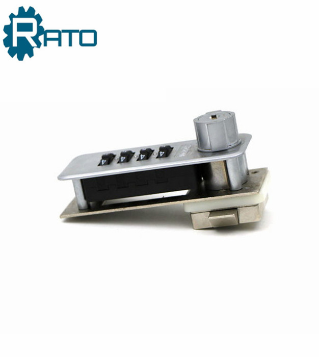 Sliver Hot Selling Metal Combination Tongue Drawer Lock