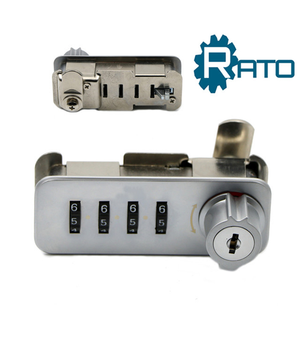 Resettable Mechanical Auto Return to Zero Combination Lock