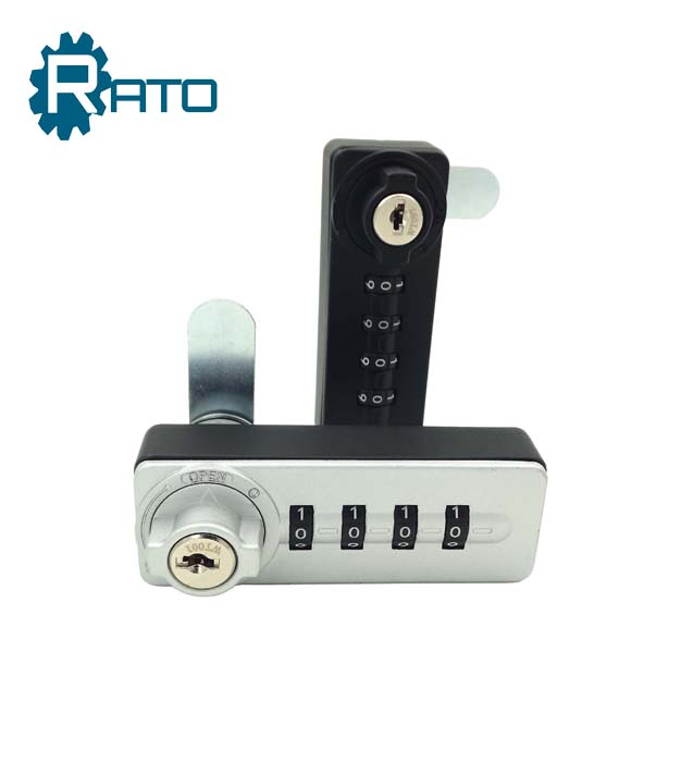 Furniture Door 4 Digital Hidden Cabinet Lock with Keys