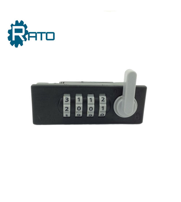 Cheap Black Color ABS Safety Number Lock