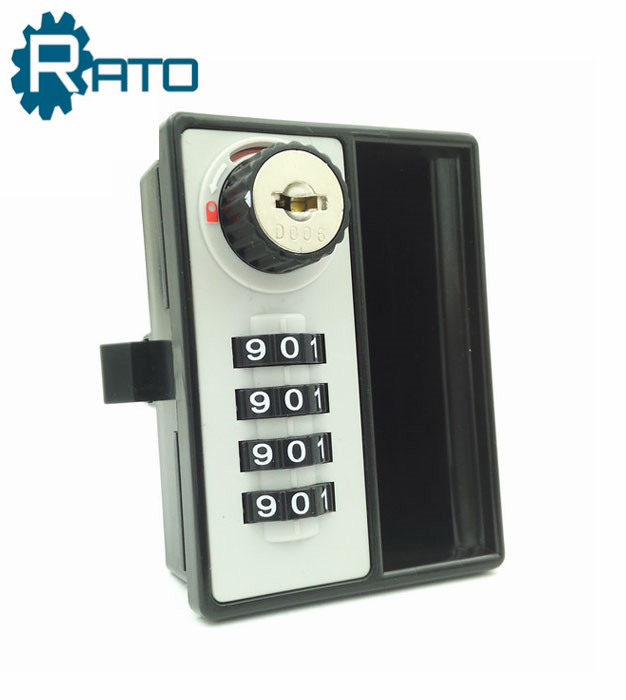 Key Safe 4 Digit Combination Door Lock with handle