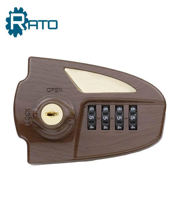 Golden Digital Code Number Locks With Master Key