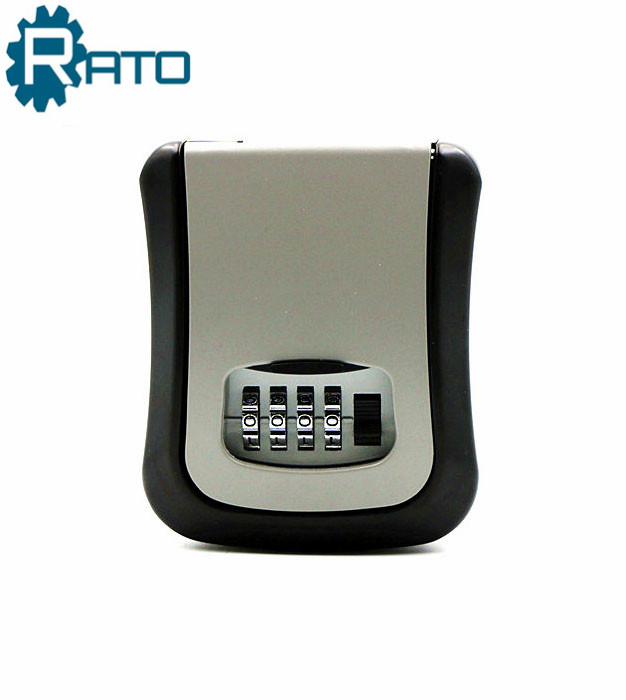 Weatherproof Outdoor Wall Mounted 4 Digit Combination Key Storage Lock