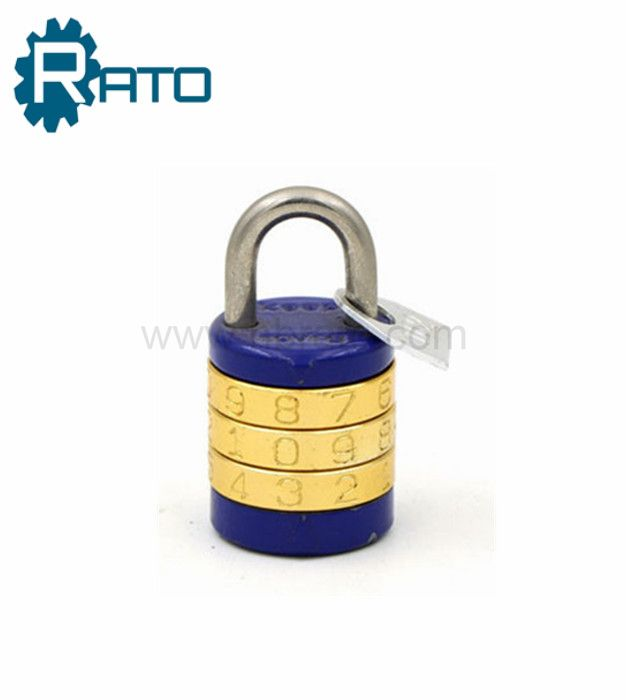 Small Cute Round Letters Combination Padlocks