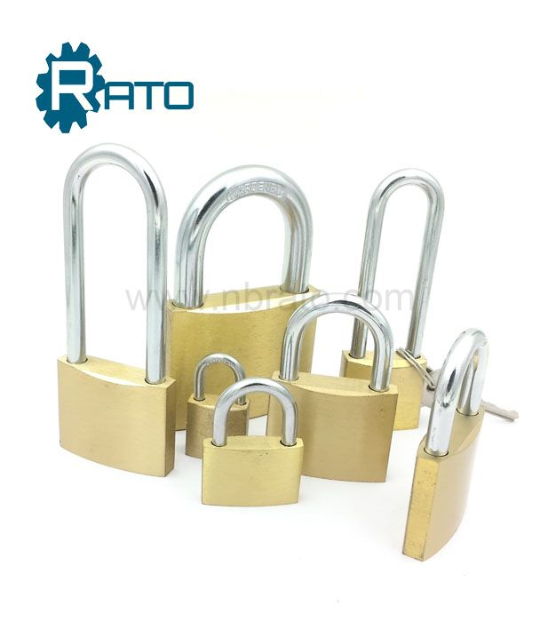 Best Safety 40mm Hardened Mirror Polish Brass Padlock